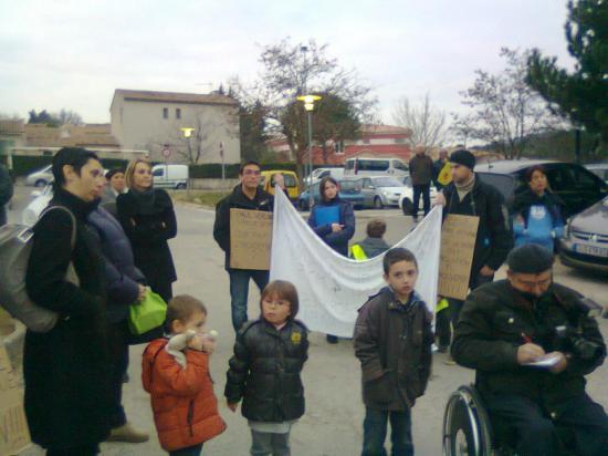 rassemblement 26/01/2012 à Saint Maximin  - Ecole Paul Barles