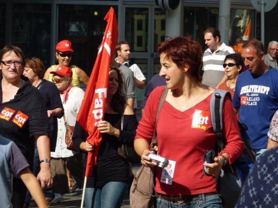 manifestation du 23 septembre à toulon