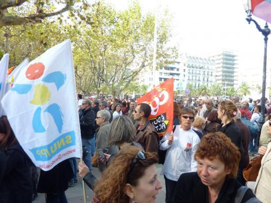 manifestation 16 Octobre Toulon