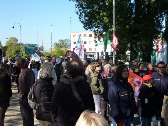 manifestation du 19 octobre à Brignoles