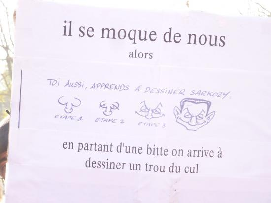 manifestation du 06 Novembre à Toulon