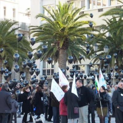 manifestation du 22/01/2011
