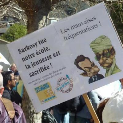 manif 19 Mars Aix en Provence