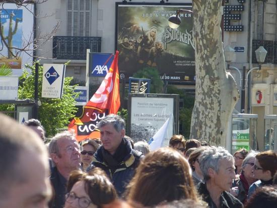 Mobilisation contre les suppressions de postes - 19 Mars