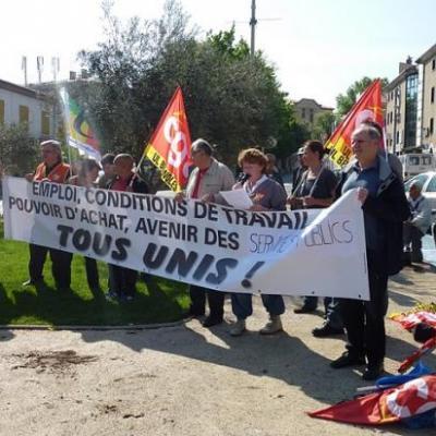 manifestation 1er Mai Brignoles