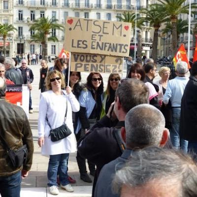 Manifestation contre l'ANI - 09 Avril 2013