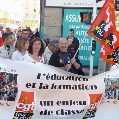 manifestation interpro 11 Octobre à Toulon