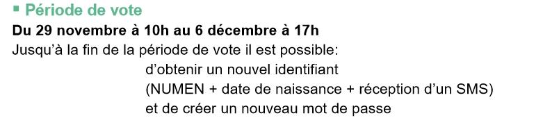 Periode de vote